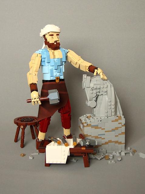 卡利弗林雕塑家