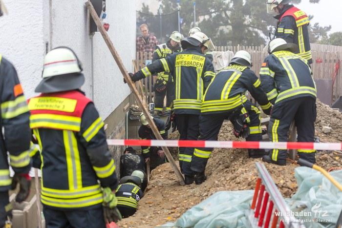 Bauunfall Naurod-Erbsenacker 15.11.18