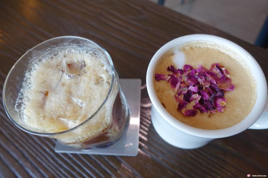 [大溪美食]503巷咖啡│大溪交流道附近甜點咖啡館~現調麵糊鬆餅搭配手沖咖啡飲品完美下午茶組合 @VIVIYU小世界