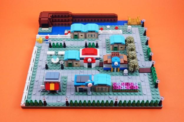 天蓝色的城市:微尺度构建