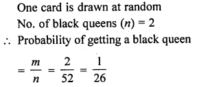 RD Sharma Class 10 Solutions Chapter 16 Probability VSAQS 11A