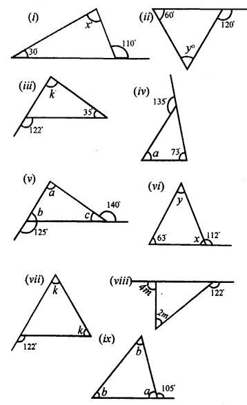 Selina Concise Mathematics class 7 ICSE Solutions - Triangles -a12