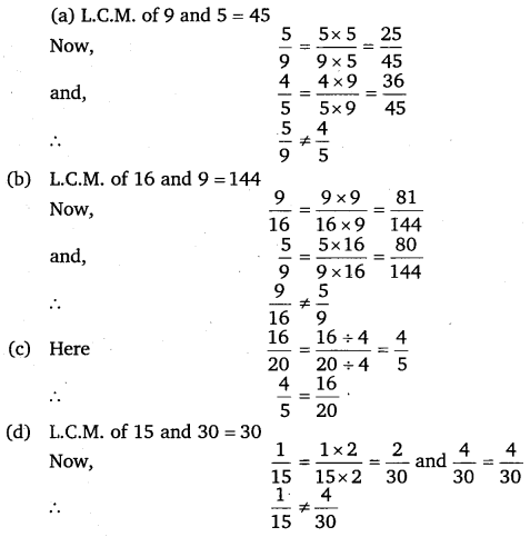 NCERT Solutions for Class 6 Maths Chapter 7 Fractions 62