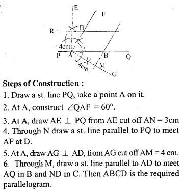 ML Aggarwal Class 9 Solutions for ICSE Maths Chapter 13 Rectilinear Figures  ex 2  14a