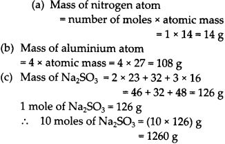 NCERT Solutions for Class 9 Science Chapter 3 Atoms and Molecules 21