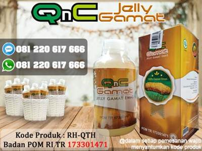 Obat Stroke Herbal QnC Jelly Gamat