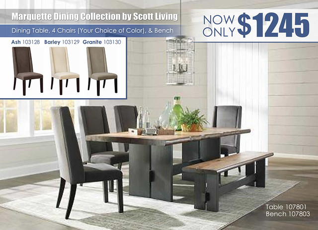 Marquette Dining Collection by Scott Living_107801