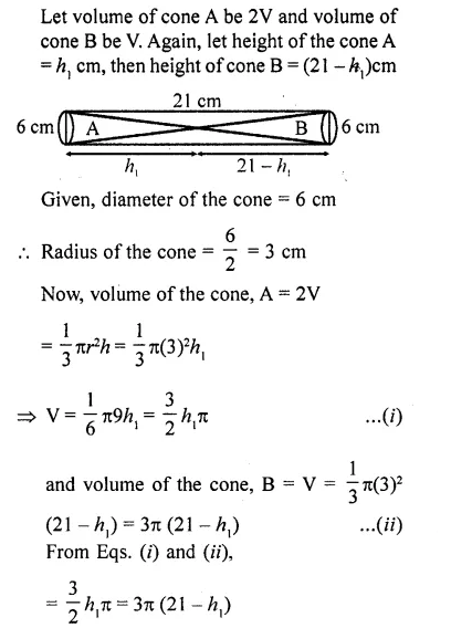RD Sharma Class 10 Solutions Chapter 14 Surface Areas and Volumes  RV 75a