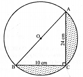 RD Sharma Class 10 Solutions Chapter 13 Areas Related to Circles Ex 13.4 - 23