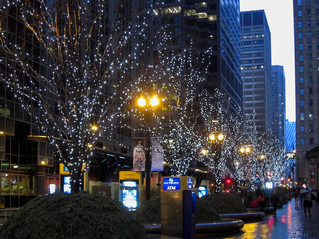 Lit trees