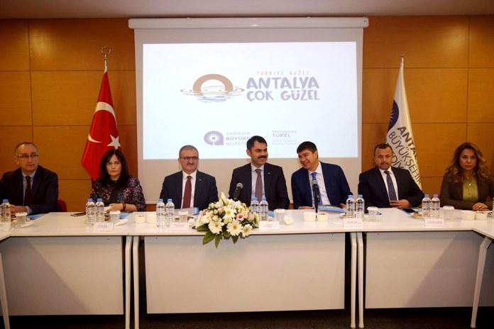 Münir Karaloğlu, Murat Kurum, Menderes Türel