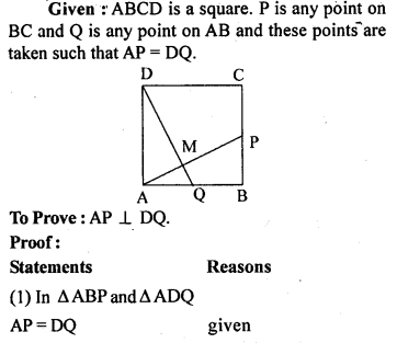 ML Aggarwal Class 9 Solutions for ICSE Maths Chapter 13 Rectilinear Figures  ex 15