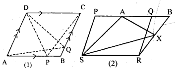 ML Aggarwal Class 9 Solutions for ICSE Maths Chapter 14 Theorems on Area     6