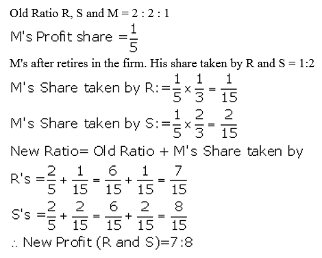 TS Grewal Accountancy Class 12 Solutions Chapter 5 Retirement Death of a Partner Q5