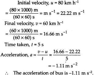 NCERT Solutions for Class 9 Science Chapter 8 Motion 4