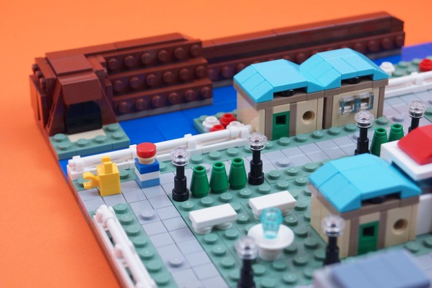 天蓝色的城市:微尺度构建细节