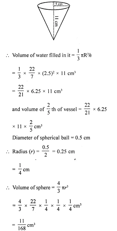 RD Sharma Class 10 Solutions Chapter 14 Surface Areas and Volumes Ex 14.1 47