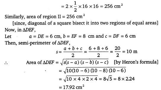 NCERT Solutions for Class 9 Maths Chapter 12 Heron's Formula 23