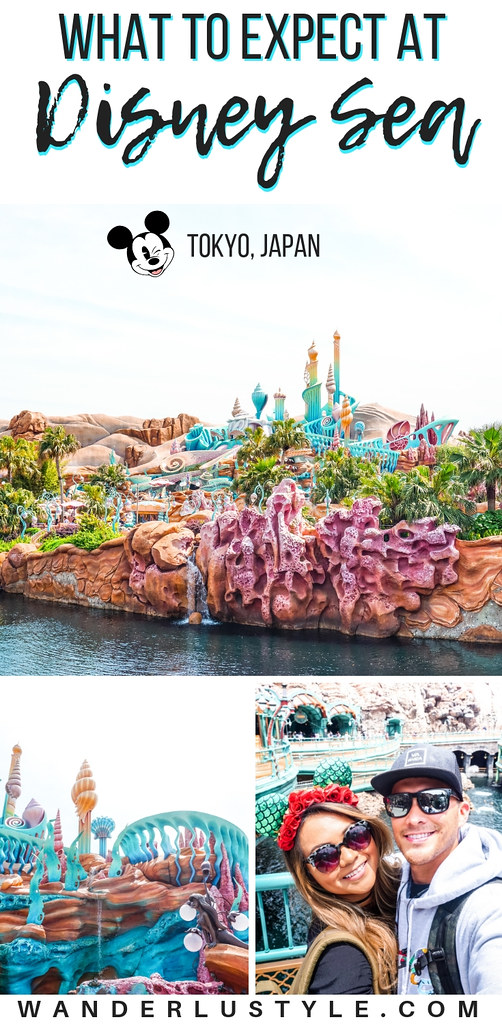 Tokyo Disney Sea at Tokyo, Japan - What To Expect, Tokyo Travel, Japan Travel, Things to do, Disney, Disney Theme Park, Disney Japan | Wanderlustyle.com