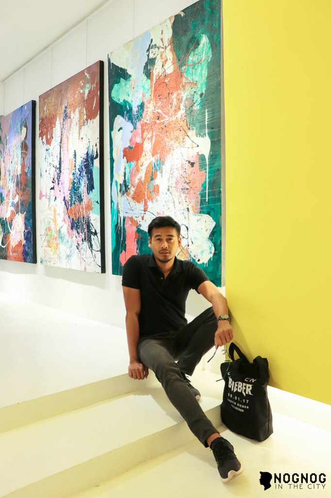 NMI ART GALLERY WITH ABSTRACT ARTIST NADINE IBAY (4 of 20)