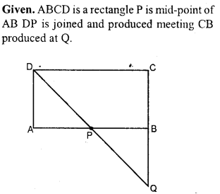 ML Aggarwal Class 9 Solutions for ICSE Maths Chapter 14 Theorems on Area     14