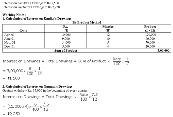 TS Grewal Accountancy Class 12 Solutions Chapter 1 Accounting for Partnership Firms - Fundamentals Q34