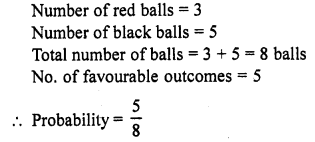 RD Sharma Class 10 Solutions Chapter 16 Probability VSAQS 17