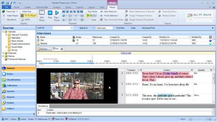 Working with QSR NVivo 10.0.638.0 full license