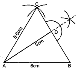Selina Concise Mathematics Class 6 ICSE Solutions - Triangles (Including Types, Properties and Constructions) -6