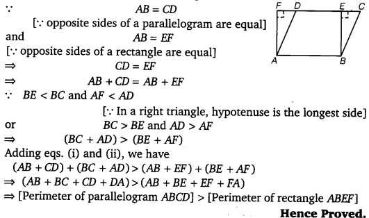 NCERT Solutions for Class 9 Maths Chapter 9 Area of parallelograms and Triangles 34