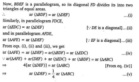 NCERT Solutions for Class 9 Maths Chapter 9 Area of parallelograms and Triangles 13