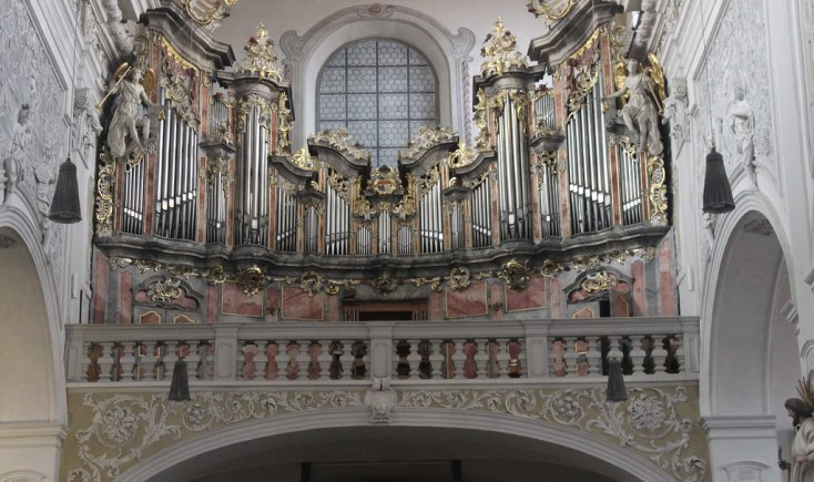 The organ of Oberre Pfarre