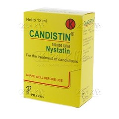 Candistin susp drop 12 ml obat sariawan di apotik