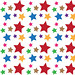colorful stars pattern background