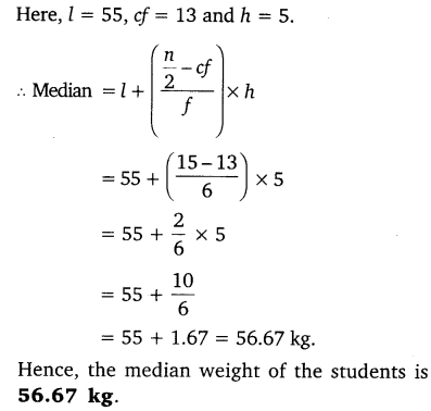 NCERT Solutions for Class 10 Maths Chapter 14 Statistics 57