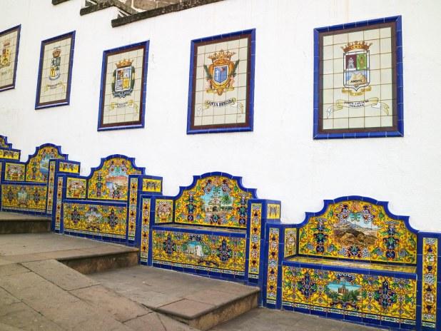 Mosaicos en Firgas
