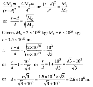 NCERT Solutions for Class 11 Physics Chapter 8 Gravitation 6