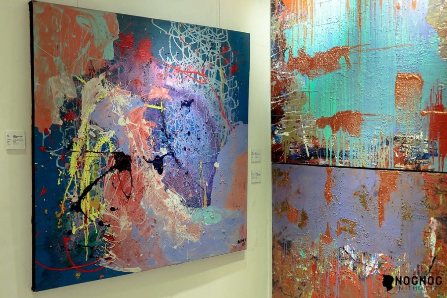 NMI ART GALLERY WITH ABSTRACT ARTIST NADINE IBAY (16 of 20)