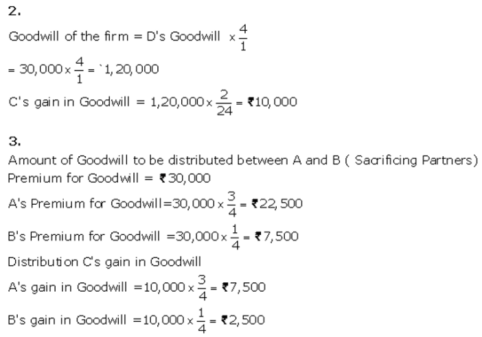 TS Grewal Accountancy Class 12 Solutions Chapter 4 Admission of a Partner Q75.4