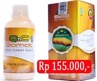 Obat herbal QnC Jelly Gamat