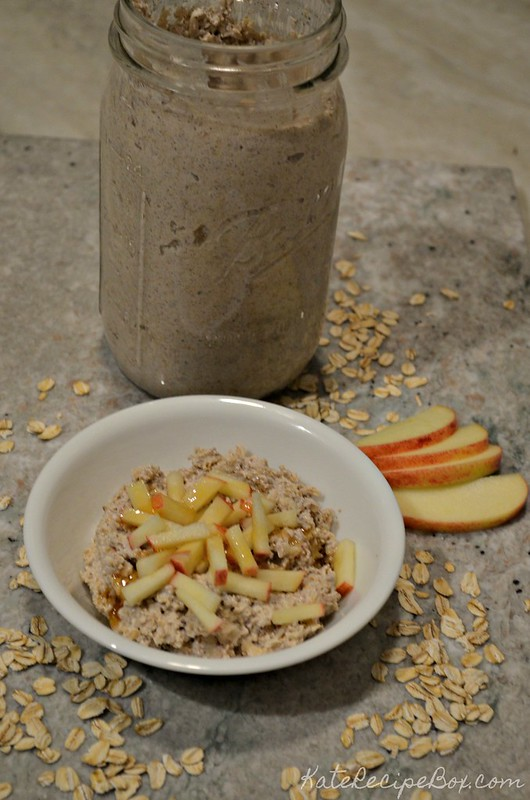 Apple Honey Oats 1