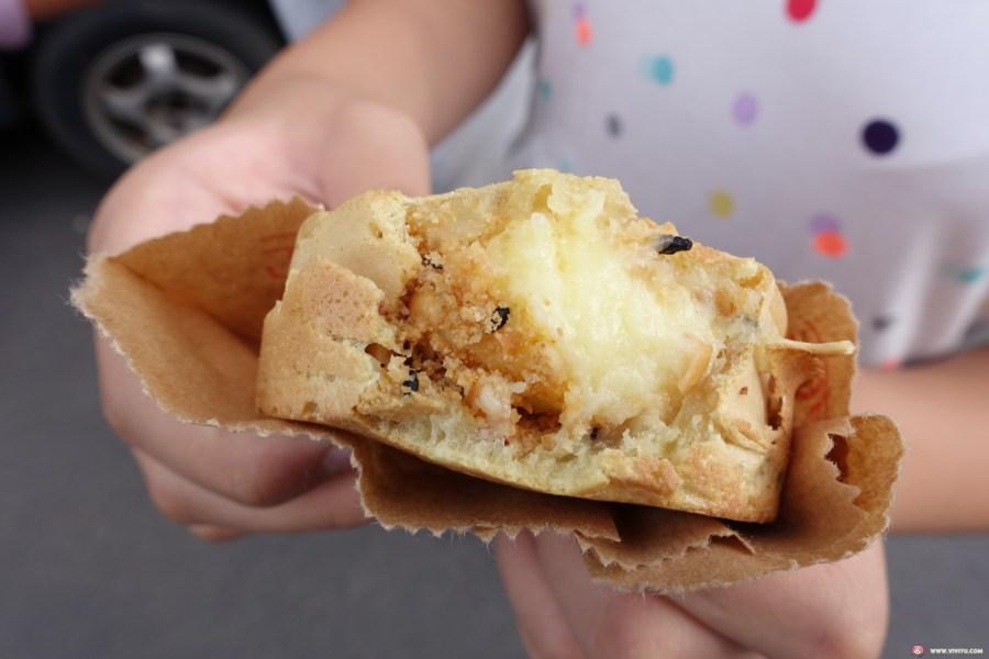 [桃園美食]小燕姊紅豆餅~桃園後站延平公園附近的銅板美食.深受小朋友喜愛的排隊點心 @VIVIYU小世界