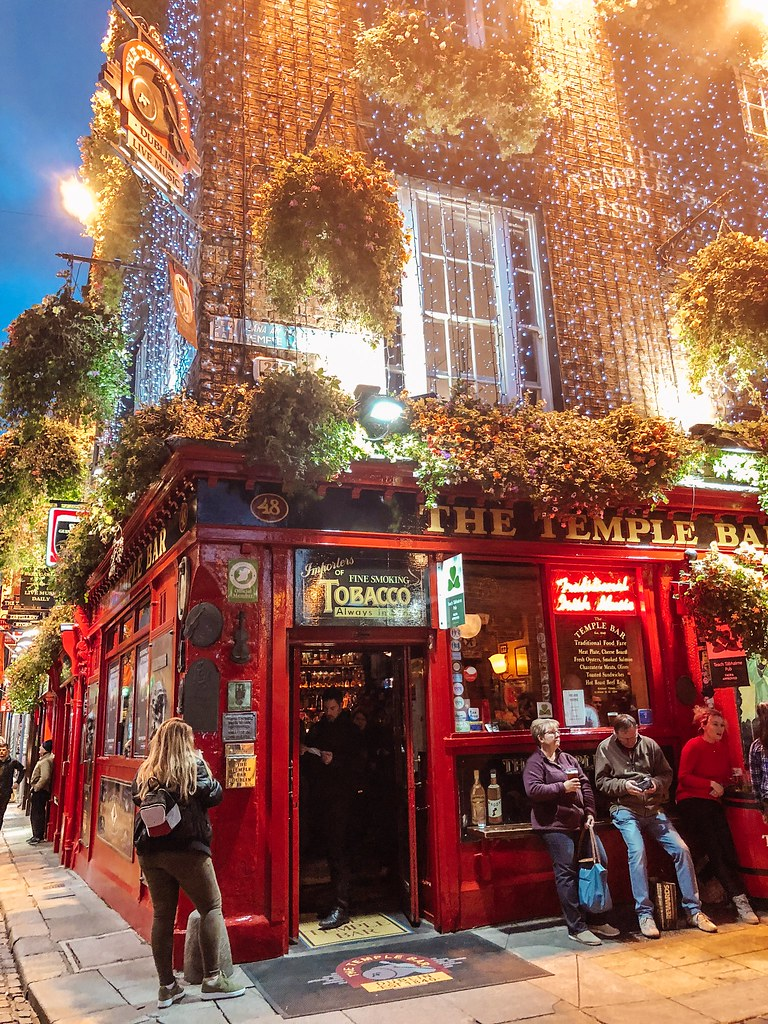 The Temple Bar | Ireland and Scotland Itinerary