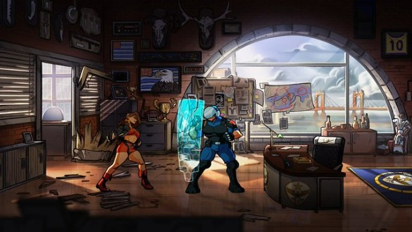 Streets of Rage 4 - Riot Police