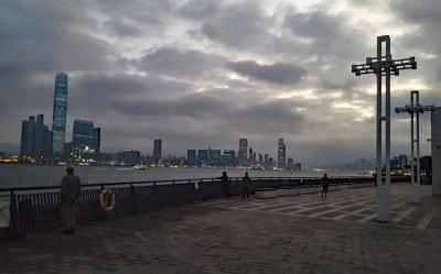 Hong Kong sunrise #marineexplorer