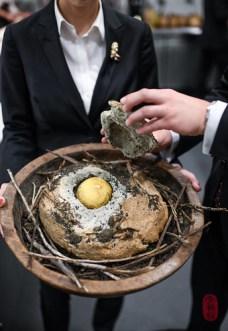 2nd Course: Salt-Baked Turnip