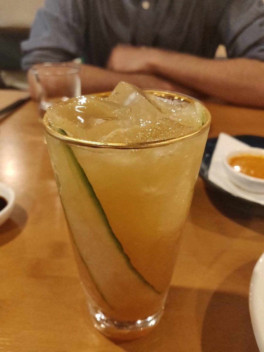Cocktails Gin Chifa Dumpling House Hong Kong Restaurant