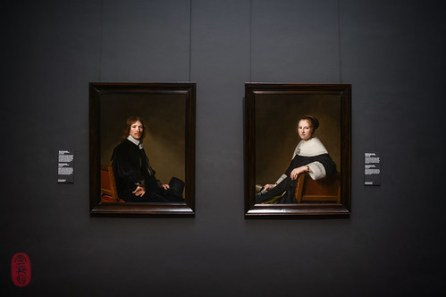 Portraits of Eduard Wallis and Maria van Strijp
