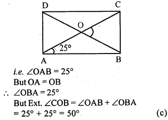 ML Aggarwal Class 9 Solutions for ICSE Maths Chapter 13 Rectilinear Figures  mcq  4