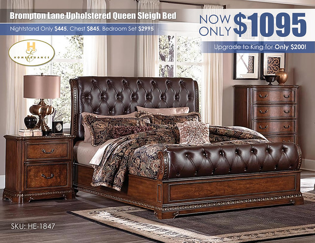 Brompton Upholstered Sleigh Bed_HE-1847-BED